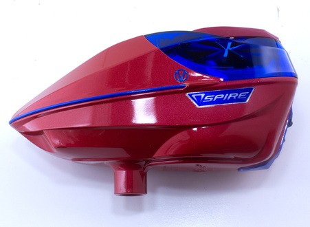 Virtue Spire 200 Loader - Red Gloss with Blue Crown