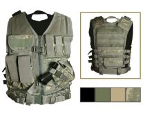 NcSTAR TACTICAL VEST/TAN (X-LARGE)