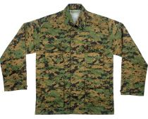 UF BDU Shirt - woodland digital