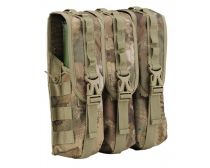 Dye Tactical Locking Triple Pod Pouch - DyeCam