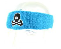 HK Sweatband - Light Blue with Black Stitching