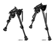 NcStar Precision Grade Bipods with Notched Locking Legs - 8 inch