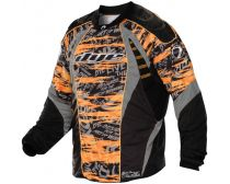 Dye C12 Speedball Jersey - Tiger Stripe Orange