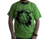 PeeGee Splash Shirt - Lime Green