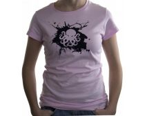 PeeGee Lady Splash Shirt - Pink