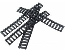 Tactical-Mod Ladder Rail Cover 4 Pack - Black