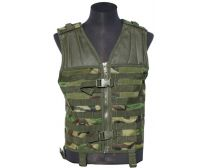 GXG Lightweight Modular Assault Vest - Woodland Camo