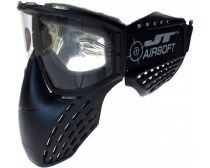 JT Elite Delta 3 Airsoft Goggle - Black