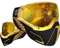 HK Army KLR Paintball Graphic Goggles - Metallic Gold