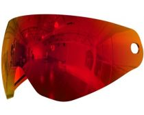 HK Army KLR Pure Mirror Lens - Scorch Red