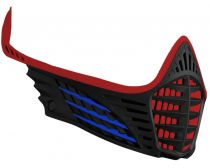 Virtue VIO Face Mask - Red/Blue/Black