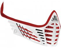Virtue VIO Face Mask - Red/Red/White