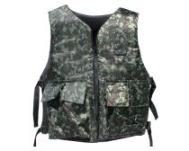 GXG Basic Tactical Vest Reversible Black/Digi Green