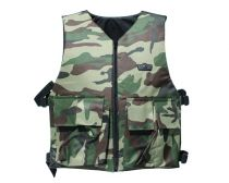 GXG Basic Tactical Vest Reversible Black/Woodland Camo