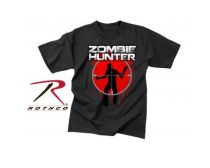 Rothco T-Shirt Zombie Hunter - Black