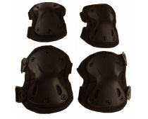 GXG Tactical Elbow/Knee Pad Set - Black
