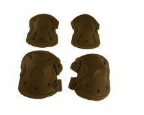 GXG Tactical Elbow/Knee Pad Set - Tan
