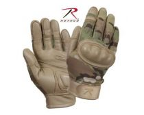 Rothco Flame and Heat Resistant Hard Knuckle Tactical Gloves - Multicam