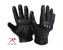 Rothco Flame and Heat Resistant Hard Knuckle Tactical Gloves - Black
