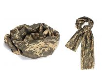 Crosshairs Camouflage Mesh Sniper Veil Scarf - ACU