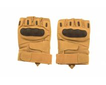 Crosshairs Tactical Hard Knuckle Half Finger Gloves