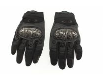 Crosshairs Tactical Carbon Fiber Full Finger Gloves - Carbon