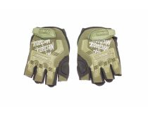 Mechanix Work/Sport/Tactical/Cycle/Motorcycle Half Finger Gloves - Green