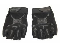 Mechanix Work/Sport/Cycle/Motorcycle Half Finger Gloves - Black
