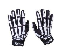 Crosshairs  Racing / Biking / Tactical Skull Full Finger Glove - L