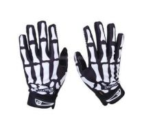 Crosshairs  Racing / Biking / Tactical Skull Full Finger Glove - M