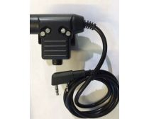 Dream Army U94 PTT Military Standard Switch / Kenwood Plug -Black