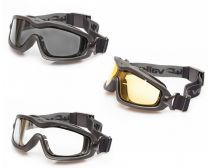 Valken V-Tac Sierra Tactical Goggles - Smoke-Yellow-Clear