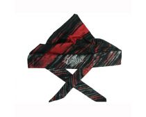 Virtue Padded Headwrap - Graphic Red / White