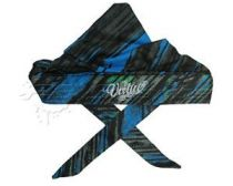Virtue Padded Headwrap - Graphic Cyan / Lime