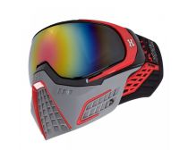 HK Army KLR Goggles Slate Black/Red