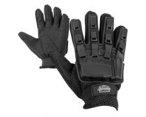 Valken V-Tac Full Finger Plastic Gloves - Black
