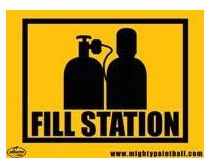 Safety Sign - Fill Station