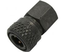 "Ninja Female Quick Disconnect 1/8"" Fittings Black"
