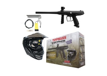 Tippmann Gryphon Value Pack black